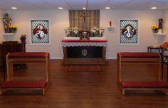 Parkesburg Private Chapel in Parkesburg, PA Glass Artwork, Blessed Mother, Stained Glass Art, Catholic, Home Decor, Decoration Home, Room Decor, Virgin Mary, Santa Maria