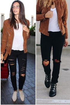 Want to dress like a model but don't know how? Here are 9 easy outfits to copy to dress like a model. Casual Fall Outfits, Office Outfits, Simple Outfits, Chic Outfits, Autumn Outfits, Classic Outfits, Older Women Fashion, Womens Fashion, Fashion Fall