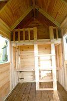 ladder/railing for the playhouse loft