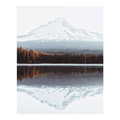 Trillium Lake Mt. Hood. by ioegreer