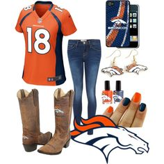 My Dream Broncos Outfit
