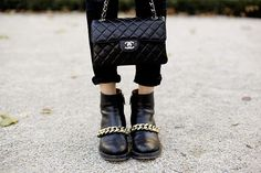 Chanel. smiles all round.