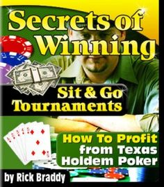Want to rule in Texas Hold Em? Increse the odds of winning thru Dominate Texas Hold Em-a poker tournament strategy handbook http://pokertournamentstrategyreviewbyanthony.com/, filled with all the tricks the poker community has accumulated time and time again. Get a closer look at this handbook by clicking the photo link.