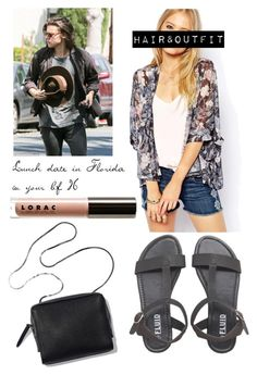 """Lunch date in Florida w/H."" by hxrrystyles ❤ liked on Polyvore"