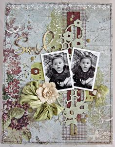 Triple the Scraps: It's Time to Share a New {Layout}