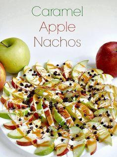 Apple nachos yummy