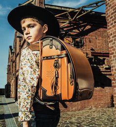 RODEO Premium Randoseru School Backpack 2017 Model - Camel Brown Handmade in Japan