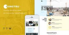 wpthemeclub: Constru - Construction WordPress Theme