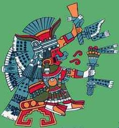 Aztec War God | Read about the gods & goddesses who created the world