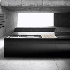 #H.10+ kitchen program by Heron Lab #kitchens #modernkitchens #madeinitaly #aluminium #aluminiumkitchen #architecture #interiordesign