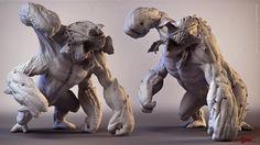 DmC Imprisoner 3D Art by JEEN LIH LUN – Zbrushtuts Monster Concept Art, Fantasy Monster, Monster Art, Creature Concept Art, Creature Design, 3d Character, Character Design, Mythological Monsters, Monster Characters