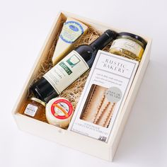 Excellent Taste Gourmet Gift Box Local Delivery Gifts - Assorted/Gifts, The Santa Barbara Company