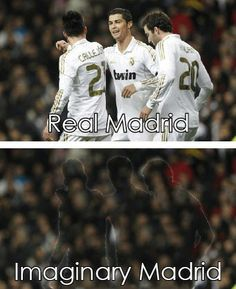 Real Madrid and Imaginary Madrid