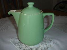 Melitta Minden Kaffeekanne 0-6 altgrün alte Form