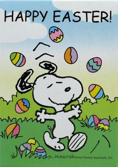 Snoopy-  Easter