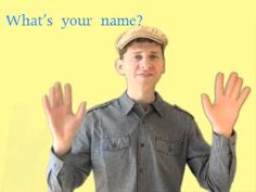 What's Your Name? Song for Kids. Repinned by www.preschoolspeechie.com