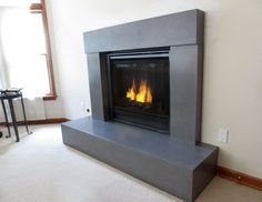 10 Wonderful Tips AND Tricks: Brick Fireplace Cover concrete fireplace with shelves.Fireplace With Tv Couch fireplace seating focal points. Craftsman Fireplace, Cabin Fireplace, Fireplace Seating, Fireplace Bookshelves, Fireplace Cover, Fireplace Built Ins, Shiplap Fireplace, Victorian Fireplace, Concrete Fireplace