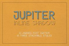 Jupiter Inline Shadow by SouthpawMiller on @creativemarket
