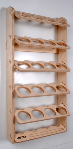 20 Can Spray Paint or Lube Can Wall Mount Storage Holder Rack image 1 Garage Organisation, Garage Tool Storage, Can Storage, Workshop Storage, Garage Tools, Woodworking Projects Diy, Woodworking Furniture, Welding Projects, Woodworking Tools