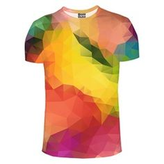 T-Shirt Colorful Geometric