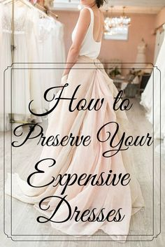 YES. I definitely needed this. I have so many dresses and they're all so expensive. Maybe i should show my maids this so they can actually do their job. smh......
