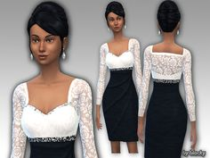 CHECK MY PROFILE FOR MORE UPDATES Found in TSR Category 'Sims 4 Female Formal'