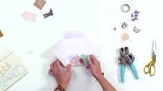 Learn some cool tips & tricks for using one of our most popular and versatile the 123 Punch Board with designer Aly Dosdall. Envelope Box, Envelope Punch Board, Coin Envelopes, Planner Journal, We R Memory Keepers, Album Book, Video Tutorials, Albums, Embellishments