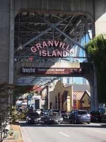 L'île de Grandville à Vancouver, Canada. Lieu des artistes et du marché couvert. #vancouver #citytrip #voyage #canada