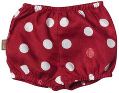 "Zebi Baby ""Red Dot"" Bum Cover"