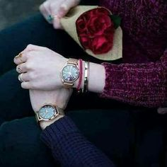 Happy Valentine's Day from Lorna Burford and Adam York! Celebrating the romantic love day with Henry London purple and rose gold watches as a couple. Sexy Couple, Cute Love Couple, Beautiful Couple, Beautiful Hands, Love Couple Images, Couples Images, Love Images, Couple Pics, Couple Goals