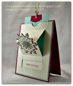 Pretty card from Be Creative with Nicole