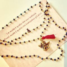 Necklace by Matildesign bijoux. Fashion accessories Made in Italy