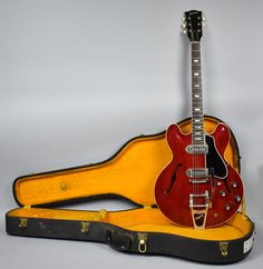 1963 Gibson ES-330 Hollowbody Electric Vintage Original Guitar Cherry Red w/OHSC #Gibson