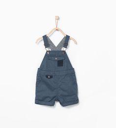 Basic dungarees from Zara Baby Boys