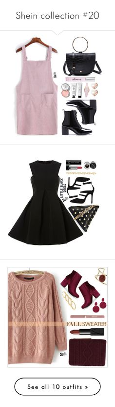 """""""Shein collection #20"""" by simona-altobelli ❤ liked on Polyvore featuring Bobbi Brown Cosmetics, Kate Spade, GUESS, Marc Jacobs, Maria Francesca Pepe, Miss Selfridge, Dorothy Perkins, Fallon, Dolce&Gabbana and NARS Cosmetics"""