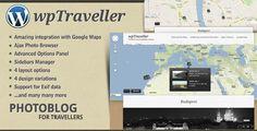wpTraveller - WordPress Travel Photo blog - ThemeForest Item for Sale