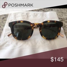 Oliver People Cabrillo sunglasses Worn maybe 5x. Measurements are 49-22-145. No scratches. These are authentic. They are missing a clear ear pad but can easily be replaced. Open to REASONABLE offers!! Oliver Peoples Accessories Sunglasses