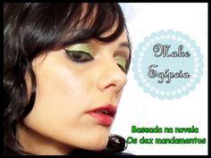 Maquiagem Egípcia - Os 10 mandamentos   Luciana de Queiróz