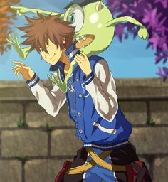 Just watched monsters University and now I want Mike Wazowski in Kingdom Hearts III haha Thinking about posting some stuff tomorrow...