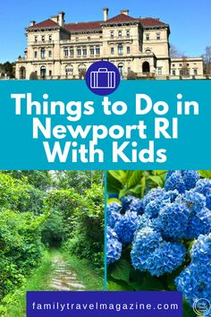 ad Newport Rhode Island is a quaint and elegant town located on Aquidneck Island. Known for its extravagant seaside mansions, Newport also offers so many great things to do with kids.