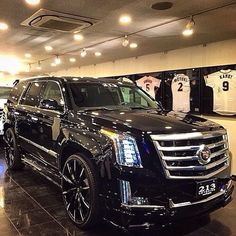 Black escalade
