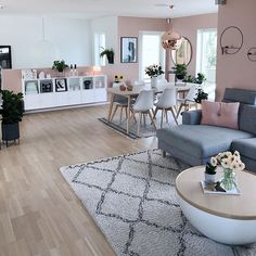 Gorgeous Scandinavian Living Room Design Ideas – - Decoration For Home Casual Living Rooms, Home Living Room, Apartment Living, Living Room Designs, Living Room Decor, Bedroom Decor, Modern Living, Small Living, Wall Decor
