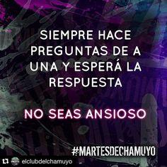"""#Repost @elclubdelchamuyo with @repostapp. ・・・ """"La paciencia es un árbol de raíz amarga pero de frutos muy dulces"""" #ProverbioPersa #AprendanDeLaGranSerpiente #martesdechamuyo"""