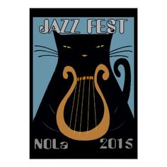 Jazz Fest Black Cat Lyre NOLa 2015