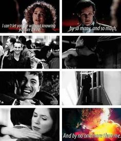 Awwww River Song and the doctor r the cutest couple