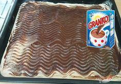 Hrnčekový jablkový Granko koláč pripravený za 15 minút | NajRecept.sk Snack Recipes, Cooking Recipes, Snacks, Food Platters, Banana Split, 20 Min, Kefir, Crinkles, Pop Tarts