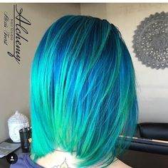 Mermaid Hair  @hairbyalexisfoerst  by imallaboutdahair