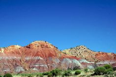 Ghost Ranch in Abiquiu, New Mexico, USA