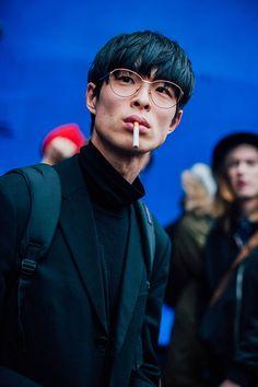 Fashion Week homme Street looks Paris automne hiver 2016 2017 84