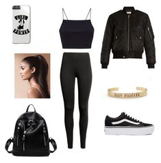 """""""Untitled #1"""" by puprock ❤ liked on Polyvore featuring Yves Saint Laurent and Vans"""